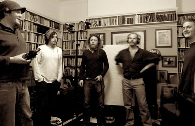 The Bedlam Six recording vocal harmonies