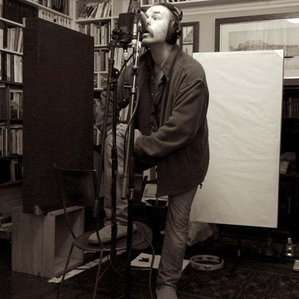 Louis Barabbas recording his final vocals