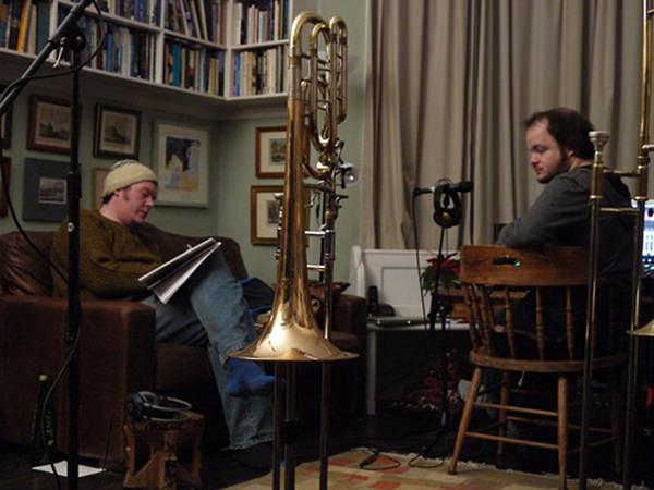 Biff, Dan and a trumpet