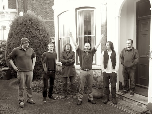 Louis Barabbas & The Bedlam Six at the end of recording Youth
