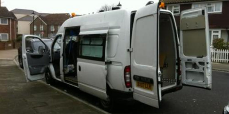 Bessie, the Bedlams' faithful tour van