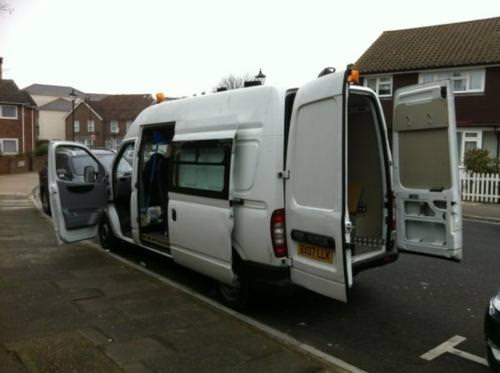 Bessie, the Bedlam Six van