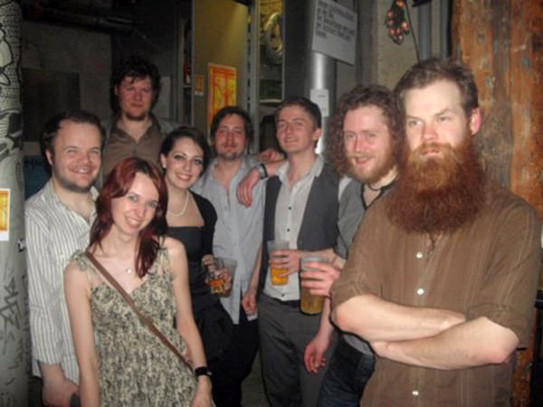 The Bedlam Six celebrate the end of their 2011 European tour