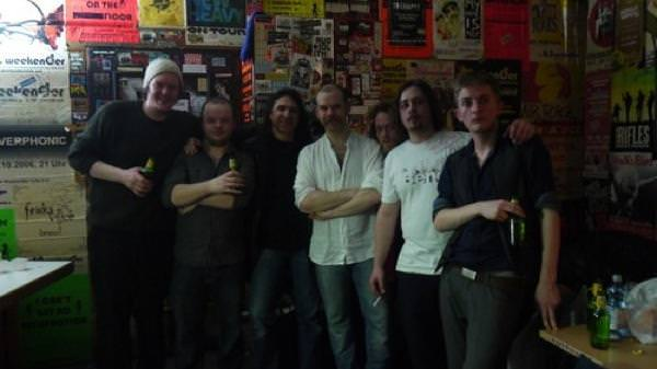 The Bedlam Six at the Innsbruck gig venue