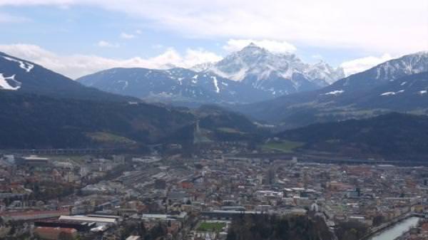 Mountains around Innsbruck