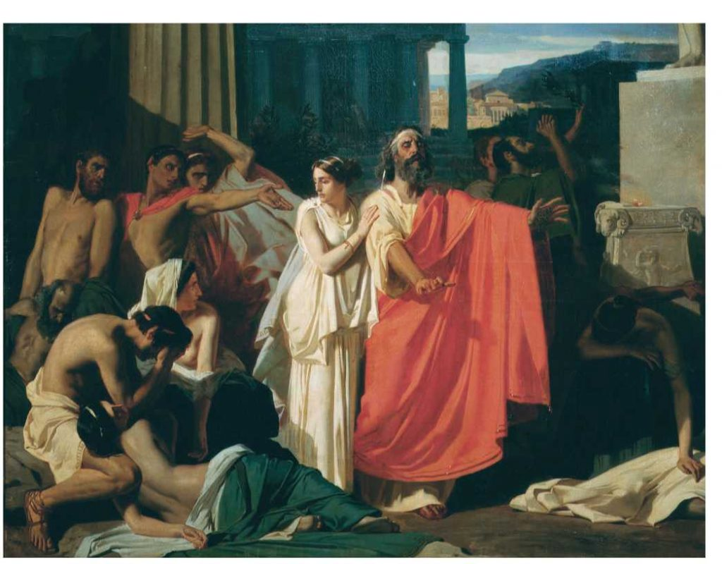 JOCASTA: The Story – Louis Barabbas Oedipus And Jocasta